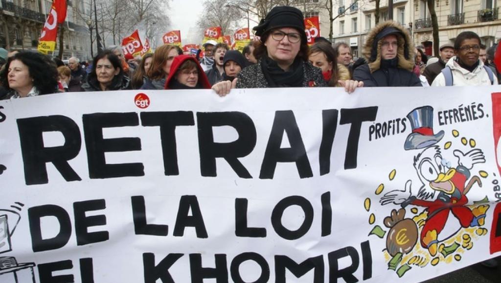 ВоФранции усиливаются уличные протесты против трудовой реформы