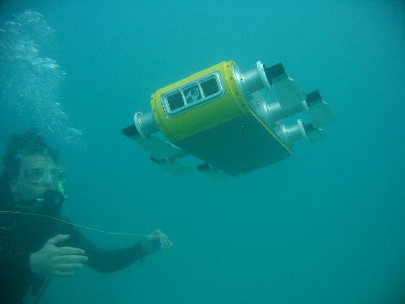 Назащиту русских границ встанет морской робот-разведчик