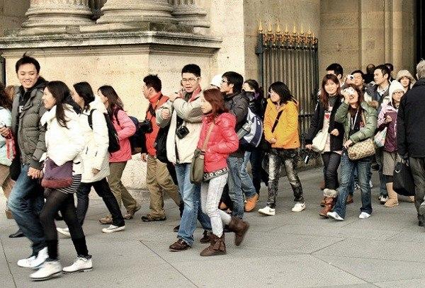 Самые великодушные  туристы вмире— китайцы