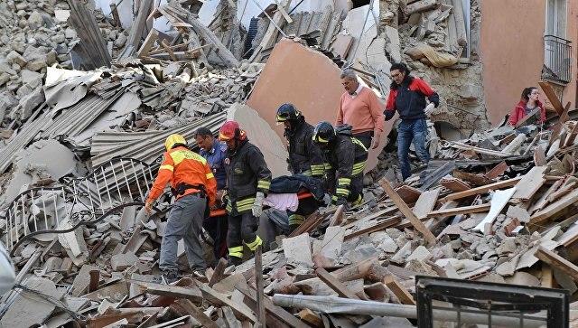 Впроцессе землетрясения вИталии погибла гражданка Испании