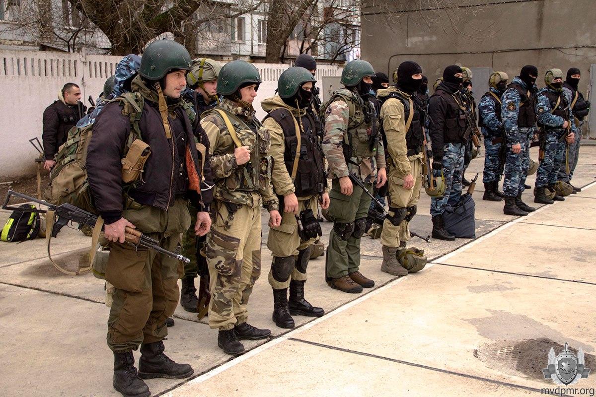 Из Приднестровья выгоняют российские войска