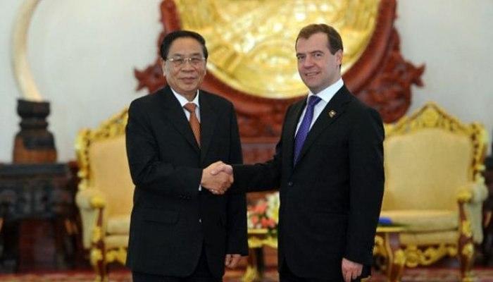 Медведев иОбама могут провести встречу наполях саммита вЛаосе