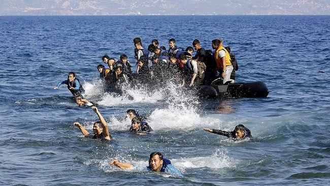 Занеделю вСредиземноморье спасли практически 14 тыс. мигрантов