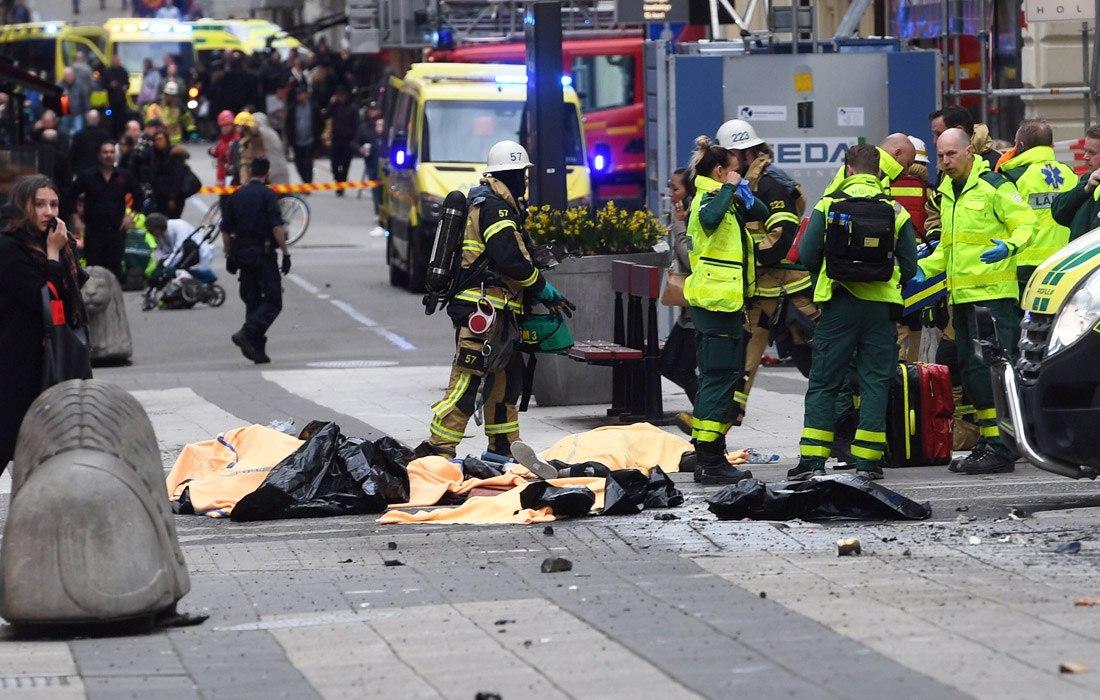 МИД проверяет, былили среди пострадавших вСтокгольме украинцы