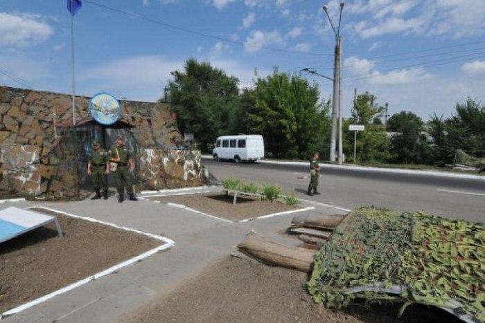 Объединённая контрольная комиссия провела проверку миротворческих  Объединённая контрольная комиссия провела проверку миротворческих постов на южном участке Зоны безопасности