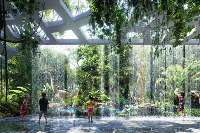 dubay2086 В Дубае построят первый в мире отель с тропическим лесом