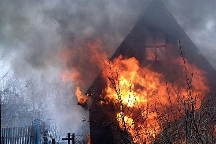 В Голій Пристані по вулиці Троїцькій сталася пожежа