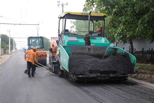 Ремонт дорог в Тирасполе