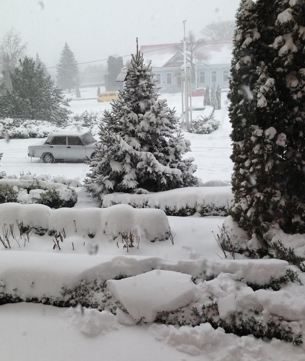 Зима в тирасполе фото 2